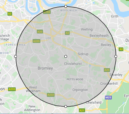 Locksmiths Chislehurst- Our Location Areas
