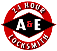 A & E Locksmiths Logo
